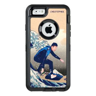 Coque OtterBox iPhone 6/6s Surfer drôle surfant sur la grande vague de