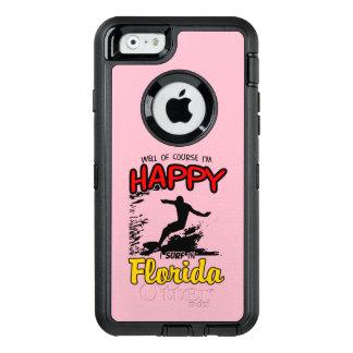 Coque OtterBox iPhone 6/6s Surfer heureux la FLORIDE (noir)
