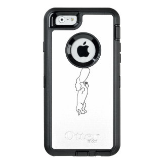 Coque OtterBox iPhone 6/6s Teckel avec le papillon