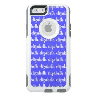Coque OtterBox iPhone 6/6s Texte nommé blanc sincèrement de inspiration de