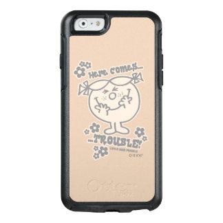 Coque OtterBox iPhone 6/6s Voici venir petite Mlle Trouble