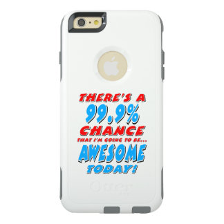 Coque OtterBox iPhone 6 Et 6s Plus 99,9% ALLER ÊTRE IMPRESSIONNANT (noir)
