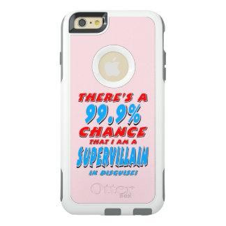Coque OtterBox iPhone 6 Et 6s Plus 99,9% Je suis un VOYOU SUPERBE (le noir)