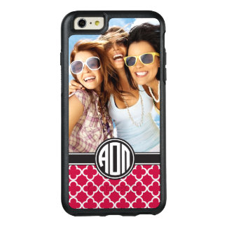 Coque OtterBox iPhone 6 Et 6s Plus Alpha monogramme et photo d'Omicron pi |