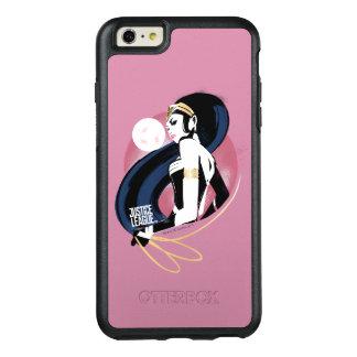 Coque OtterBox iPhone 6 Et 6s Plus Art de bruit de profil de femme de merveille de la