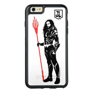 Coque OtterBox iPhone 6 Et 6s Plus Art de bruit Noir de pose de la ligue de justice |