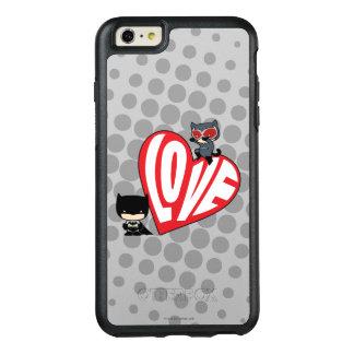 Coque OtterBox iPhone 6 Et 6s Plus Attaque de Catwoman de Chibi sur Batman