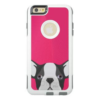 Coque OtterBox iPhone 6 Et 6s Plus Bouledogue français d'illustration avec l'arrière