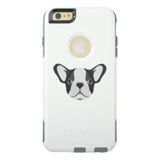 Coque OtterBox iPhone 6 Et 6s Plus Bouledogue français mignon d'illustration