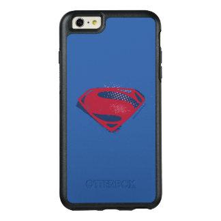 Coque OtterBox iPhone 6 Et 6s Plus Brosse de la ligue de justice | et symbole tramé