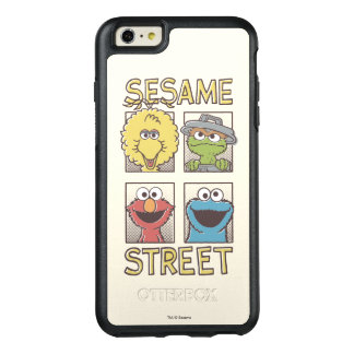 Coque OtterBox iPhone 6 Et 6s Plus Caractère de StreetVintage de sésame comique