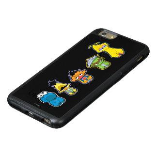 Coque OtterBox iPhone 6 Et 6s Plus Caractères de Sesame Street de zombi