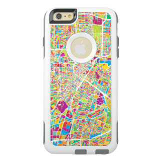 Coque OtterBox iPhone 6 Et 6s Plus Carte au néon de Houston, le Texas |