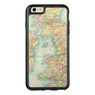 Coque OtterBox iPhone 6 Et 6s Plus Carte politique d'îles britanniques