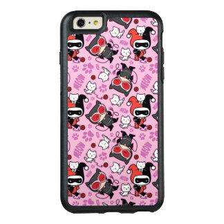 Coque OtterBox iPhone 6 Et 6s Plus Catwoman de Chibi, Harley Quinn, et motif de