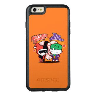 Coque OtterBox iPhone 6 Et 6s Plus Chibi Harley Quinn et coeurs de joker de Chibi