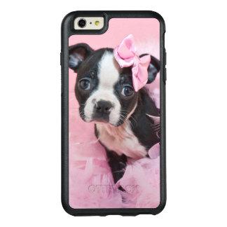 Coque OtterBox iPhone 6 Et 6s Plus Chiot mignon superbe de Boston Terrier portant un