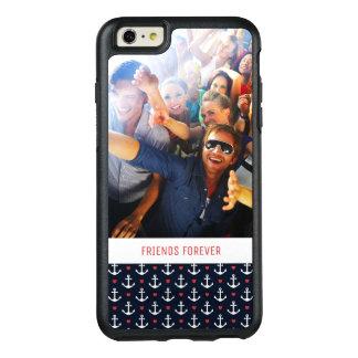 Coque OtterBox iPhone 6 Et 6s Plus Coeurs et motif | d'ancres votre photo et texte