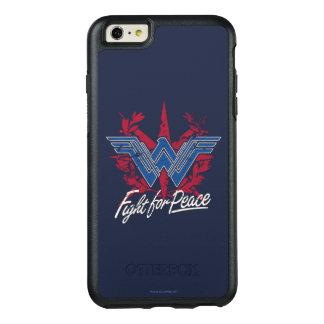 Coque OtterBox iPhone 6 Et 6s Plus Combat de femme de merveille pour le symbole de