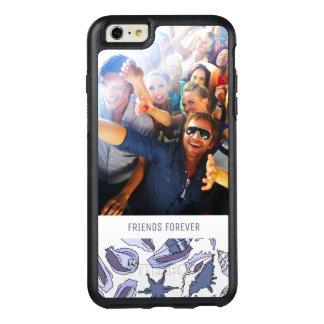 Coque OtterBox iPhone 6 Et 6s Plus Coquillages de Lavendar | votre photo et texte