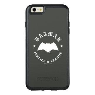 Coque OtterBox iPhone 6 Et 6s Plus Emblème de batte de la ligue de justice rétro |