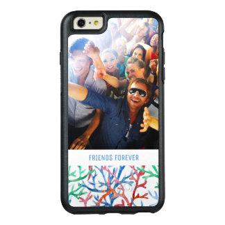 Coque OtterBox iPhone 6 Et 6s Plus Étoiles de mer bleues d'aquarelle | votre photo et
