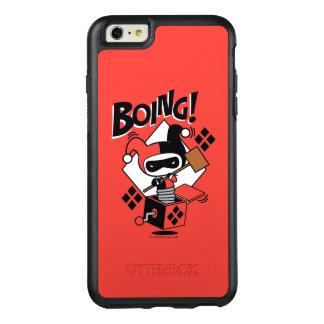 Coque OtterBox iPhone 6 Et 6s Plus Harley-Quinn-Dans-UN-Box de Chibi avec le marteau