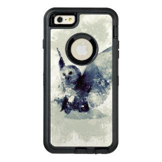 Coque OtterBox iPhone 6 Et 6s Plus Hibou merveilleux dans l'aquarelle