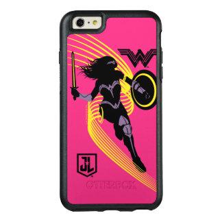 Coque OtterBox iPhone 6 Et 6s Plus Icône de silhouette de femme de merveille de la