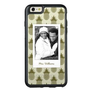 Coque OtterBox iPhone 6 Et 6s Plus L'ananas kaki Pattern| ajoutent votre photo et