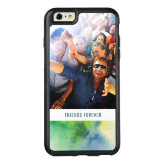 Coque OtterBox iPhone 6 Et 6s Plus L'aquarelle peinte à la main bleue | ajoutent la