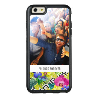 Coque OtterBox iPhone 6 Et 6s Plus Le bégonia et la paume | d'orchidée ajoutent votre