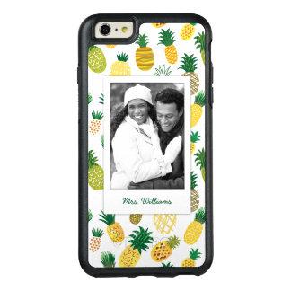 Coque OtterBox iPhone 6 Et 6s Plus Le motif à la mode | d'ananas ajoutent votre photo