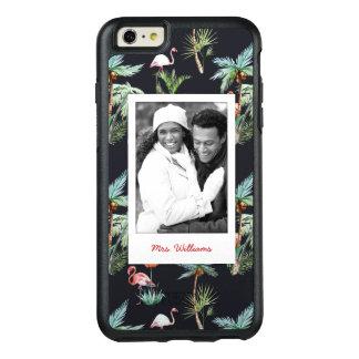 Coque OtterBox iPhone 6 Et 6s Plus Le motif | de paume d'aquarelle ajoutent votre