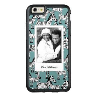 Coque OtterBox iPhone 6 Et 6s Plus Le motif | de zèbre ajoutent votre photo et