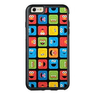 Coque OtterBox iPhone 6 Et 6s Plus Le Sesame Street a cubé le motif de visages