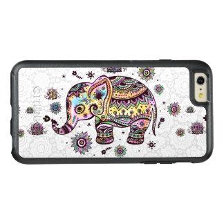 Coque OtterBox iPhone 6 Et 6s Plus Le tribal coloré mignon fleurit l'illustration
