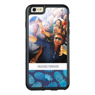 Coque OtterBox iPhone 6 Et 6s Plus Les ananas bleus de colorant de cravate | ajoutent