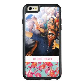 Coque OtterBox iPhone 6 Et 6s Plus Les flamants d'aquarelle | ajoutent votre photo et