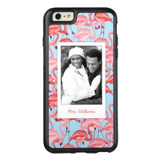 Coque OtterBox iPhone 6 Et 6s Plus Les flamants roses lumineux | ajoutent votre photo