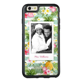 Coque OtterBox iPhone 6 Et 6s Plus Les fleurs et l'ananas | ajoutent votre photo et