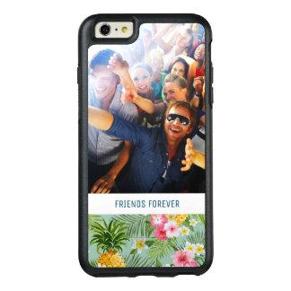 Coque OtterBox iPhone 6 Et 6s Plus Les fleurs et les ananas | ajoutent votre photo et