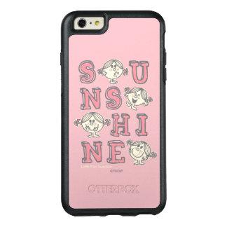 Coque OtterBox iPhone 6 Et 6s Plus Lettres de soleil