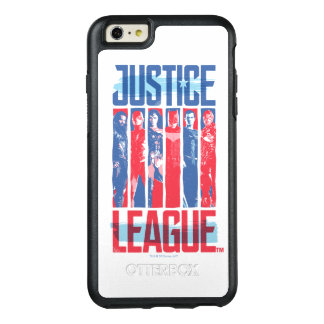Coque OtterBox iPhone 6 Et 6s Plus Ligue de justice art bleu et rouge de | de groupe