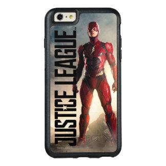 Coque OtterBox iPhone 6 Et 6s Plus Ligue de justice | l'éclair sur le champ de