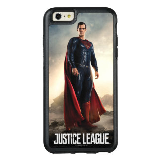 Coque OtterBox iPhone 6 Et 6s Plus Ligue de justice | Superman sur le champ de