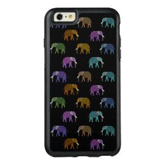 Coque OtterBox iPhone 6 Et 6s Plus Motif au néon d'éléphant