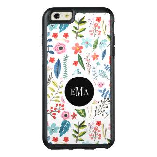 Coque OtterBox iPhone 6 Et 6s Plus Motif botanique de fleurs et de feuilles