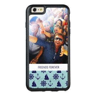 Coque OtterBox iPhone 6 Et 6s Plus Motif | de bord de la mer votre photo et texte