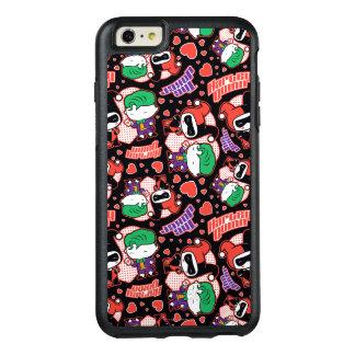 Coque OtterBox iPhone 6 Et 6s Plus Motif de coeur de joker et de Harley de Chibi